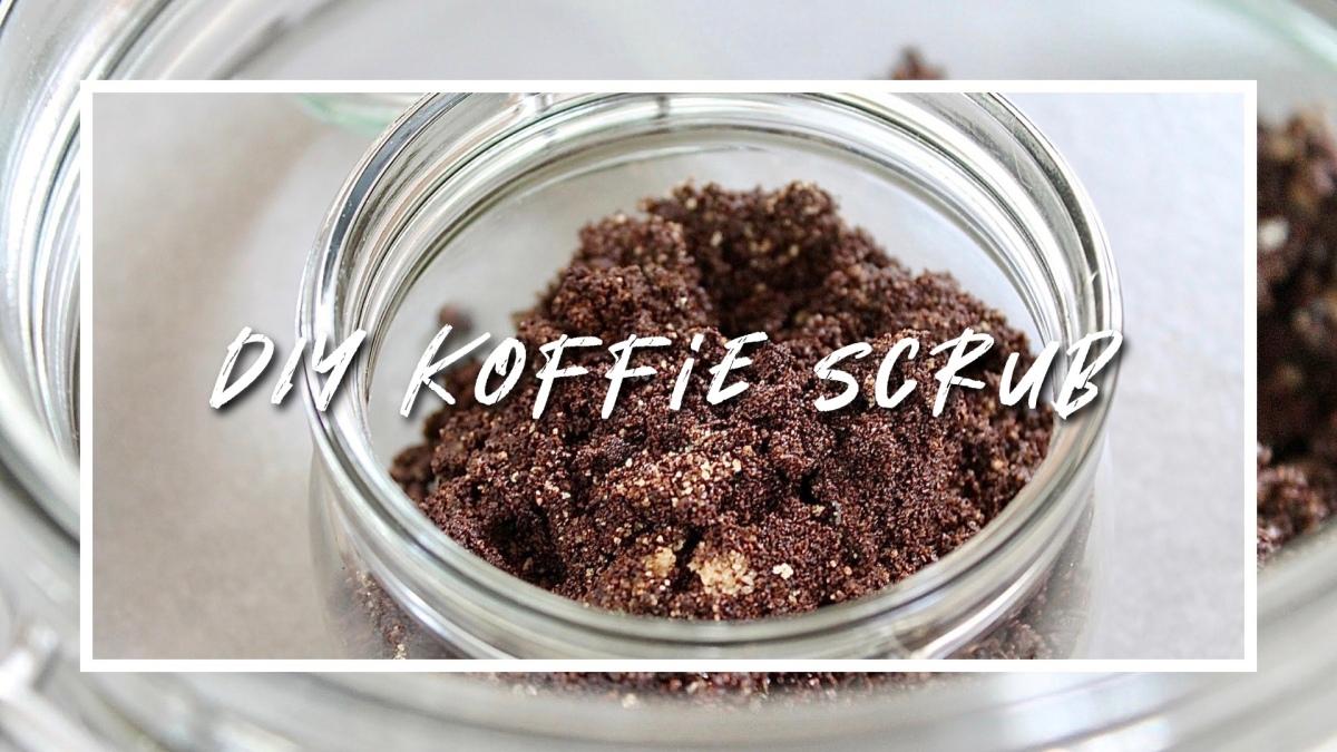 DIY| koffie scrub